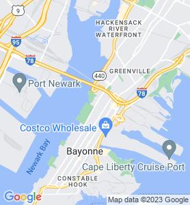 Pamrapo NJ Map