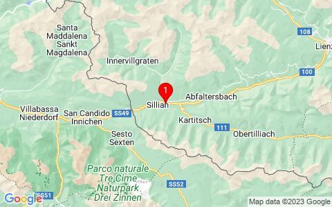 Google Map of Panzendorf 103, 9919 Heinfels,Österreich