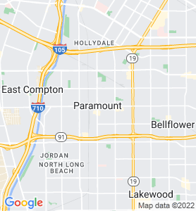 Paramount CA Map