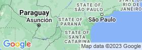 Paraná map