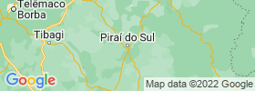 Pirai Do Sul map