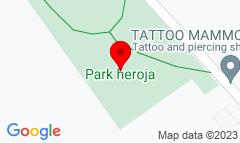 Google Map of Park heroja 8, Palić