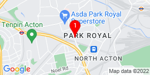 Google Map of Park Royal Business Center london