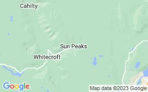 Map of Sun Peaks Resort