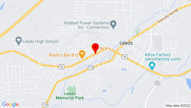 Google Map of Parkway Drive, Leeds, AL 35094