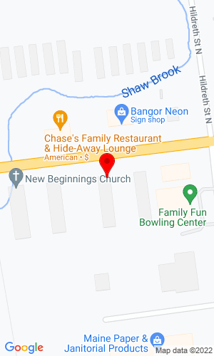 Google Map of Parts Alternative 1594B Hammond Street, Bangor, ME, 04401