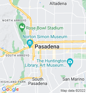 Pasadena CA Map