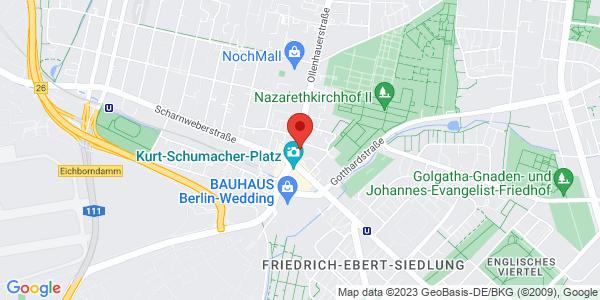 Übersichtskarte Reinickendorf