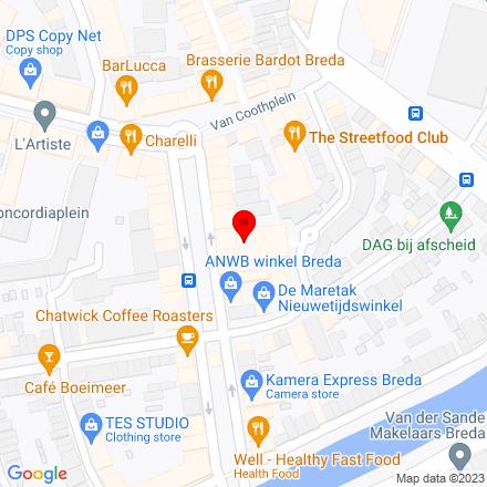 Google Map of Passage Zuidpoort 12 4811 NT Breda