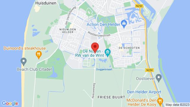 Stokman+Den+Helder op Google Maps