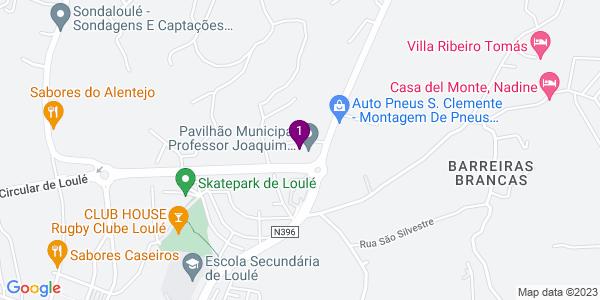 Google Map of Pavilhão Desportivo Municipal de Loulé