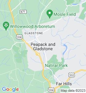 Peapack NJ Map