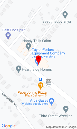 Google Map of Pearson Equipment Company 3466 West Third Street, Farmville, VA, 23901