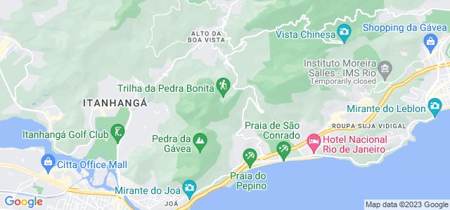 Pedra Bonita, setor C do Parque Nacional da Tijuca - RJ