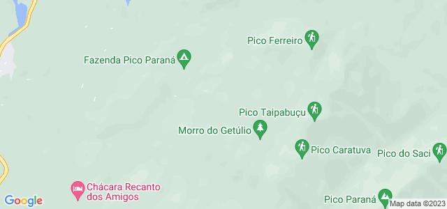 Pedra da Desistência, Morro Getúlio, Parque Estadual do Pico Paraná, Campina Grande do Sul - PR