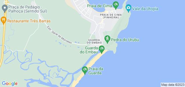 Pedra do Urubu, Praia da Guarda do Embaú, Palhoça - SC