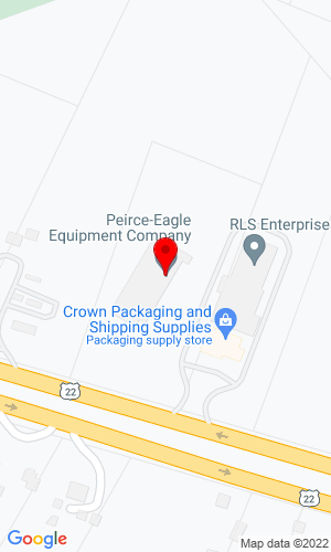 Google Map of Peirce Equipment Company 3388 Route 22 West, Somerville, NJ, 8876