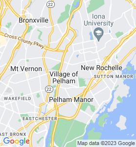 Pelham NY Map