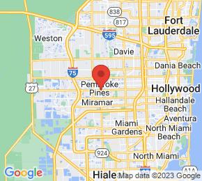 Job Map - Pembroke Pines, Florida  US