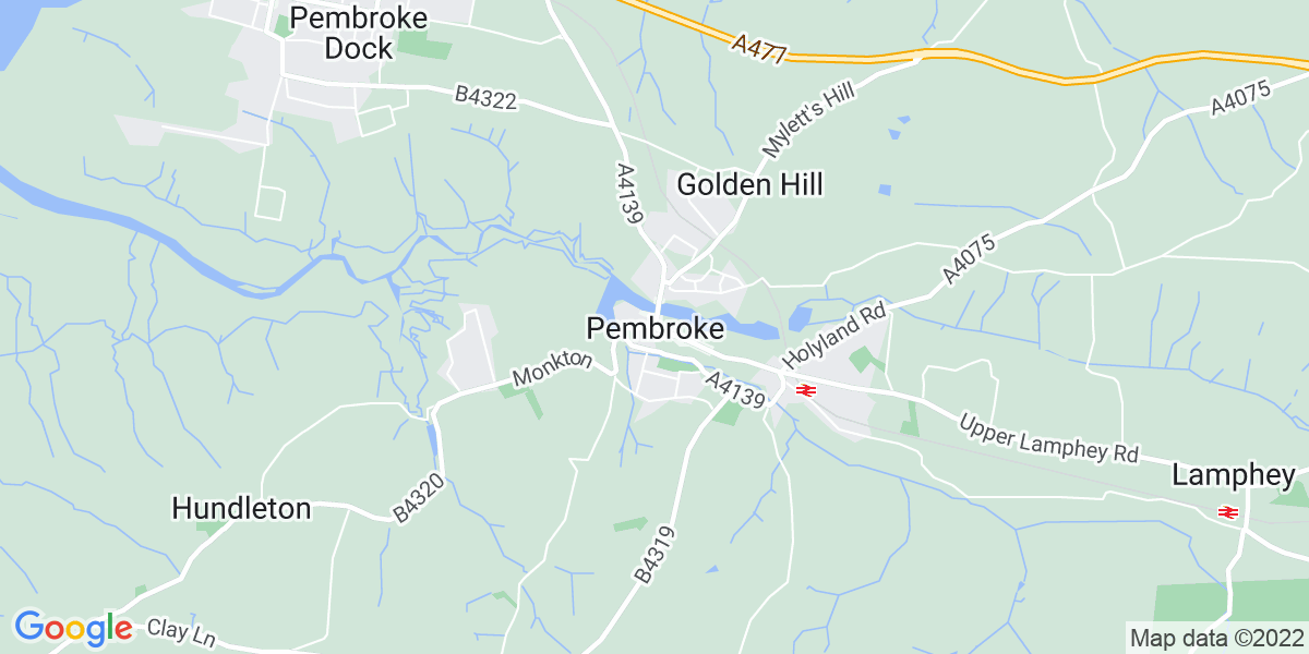 Map: Care Assistant / Support Worker position in Pembroke