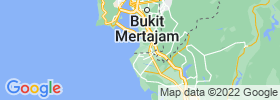 Parit Buntar map