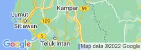Tapah Road map