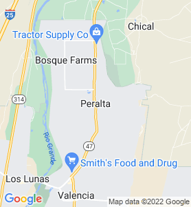 Peralta NM Map