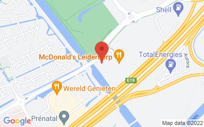 Map of 23 - Tulip Inn Leiderdorp