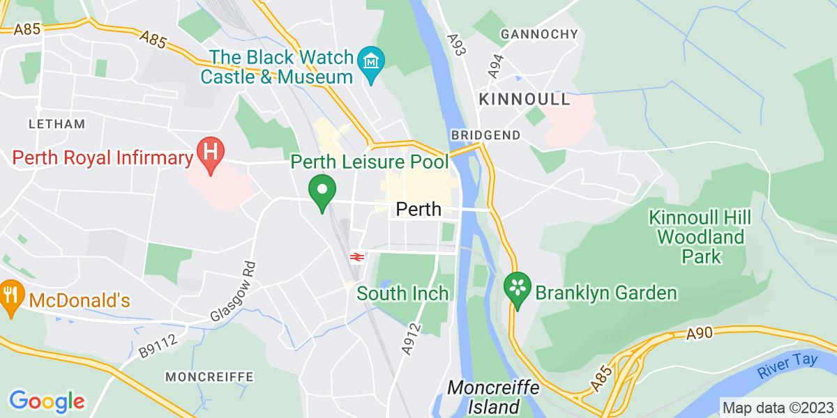 Map: Accounts Supervisor job role in Perth