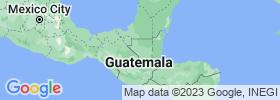Petén map