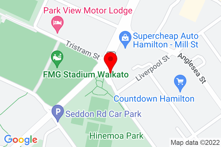 Map of Cnr+Mill+St+&+Tristram+St,+Hamilton