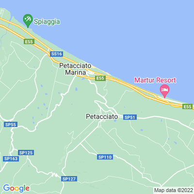 cartina Petacciato