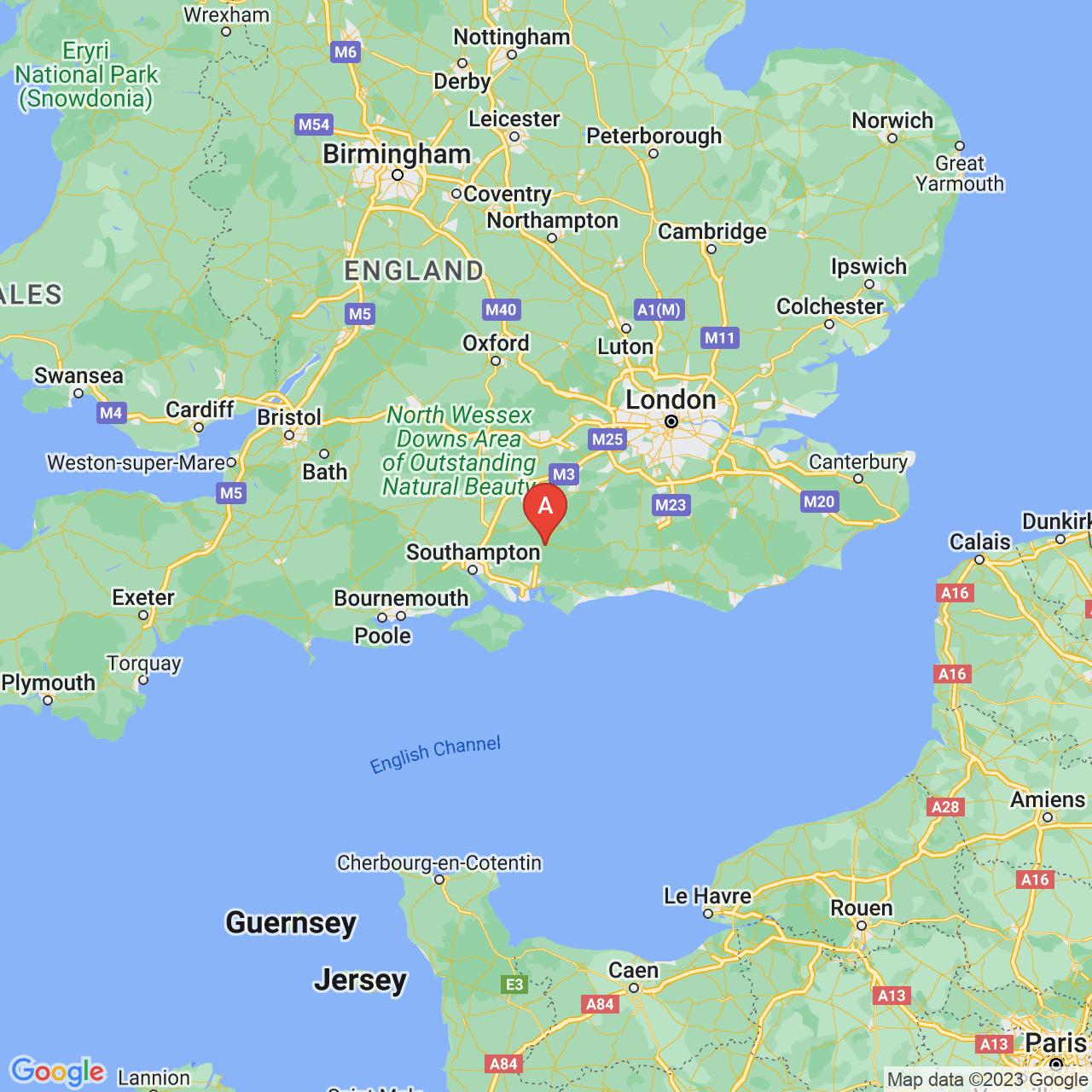 Petersfield, England Map