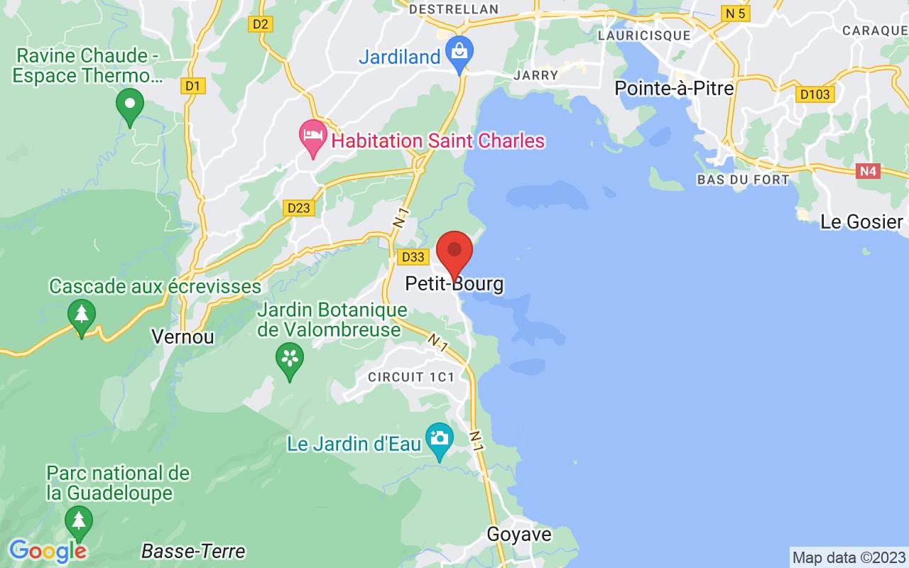 Google Maps Petit-Bourg