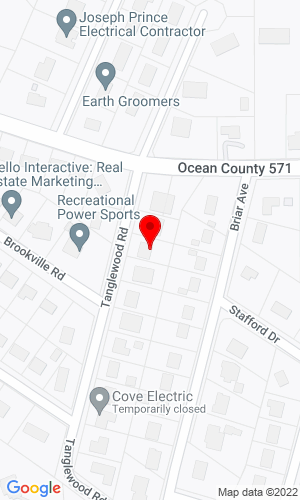 Google Map of Phoenix Equipment Parts 842 Cody Road, Toms River, NJ, 08753