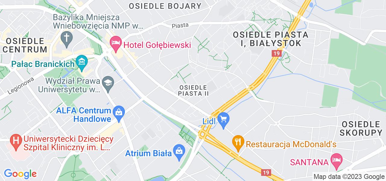 Osiedle Piasta II w Białymstoku – w tych punktach ekspresowo wyślesz turbinę do autoryzowanego serwisu