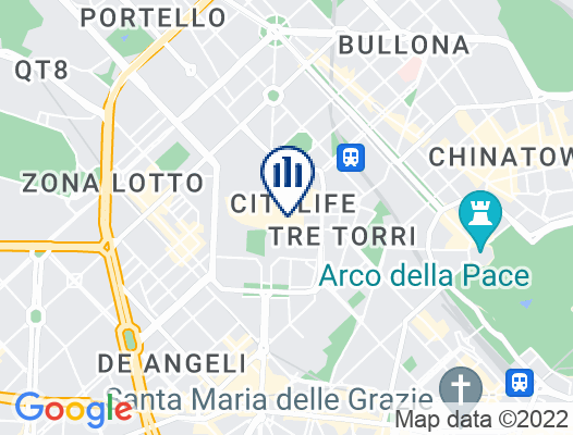 Google Map of Piazza Tre Torri, 3 20145 Milan