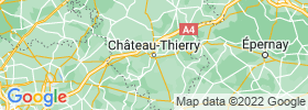 Chateau Thierry map