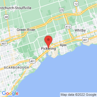 Pickering, Ontario industrial painting service area