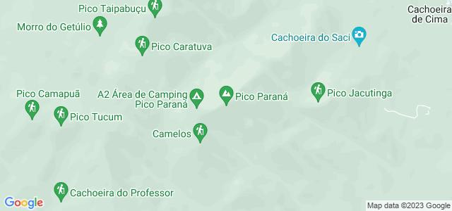 Pico Paraná, Parque Estadual Pico do Paraná - PR