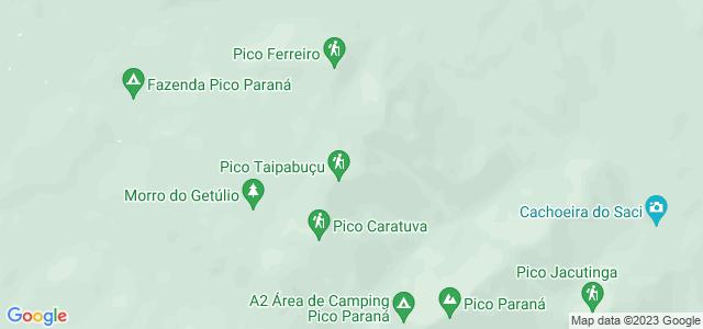 Pico Paraná, Serra do Ibitiraquire, Paraná - PR