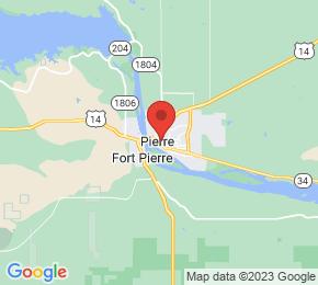 Job Map - Pierre, South Dakota  US