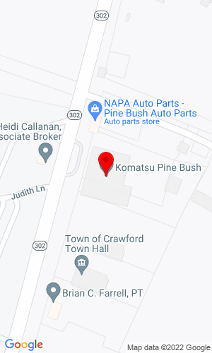 Google Map of Pine Bush Equipment Co., Inc. 97 Route 302, Pine Bush, NY, 12566