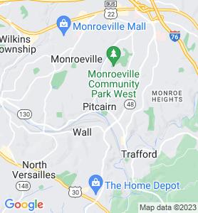 Pitcairn PA Map