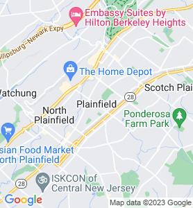 Plainfield NJ Map