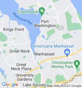 Plandome NY Map