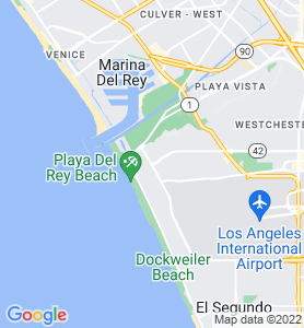 Playa Del Rey CA Map