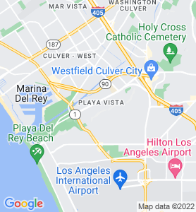 Playa Vista CA Map