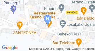 Rural Kutxa - Lesaka mapa