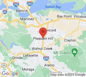 Job Map - Pleasant Hill, California  US